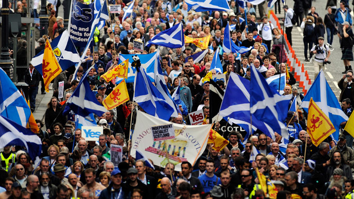 Campaign for Scottish independence vulnerable to Westminster and Brussels