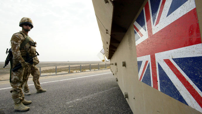 War-weary Britons question why UK 'one of biggest military spenders'
