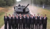 Footage of tank using crowd of people for full-speed brake demo goes viral