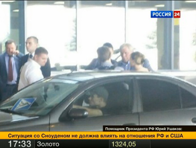 Snowden granted 1-year asylum in Russia, leaves airport