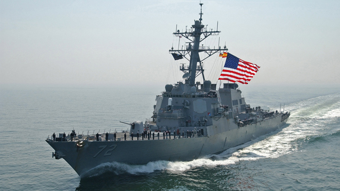 Troubled waters: Naval forces line Syrian shores