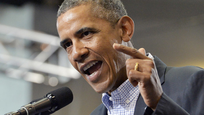 'US prepared to act' if diplomacy fails on Syria – Obama