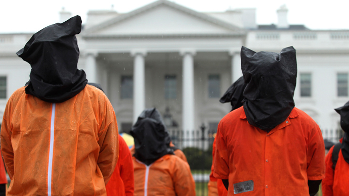 'Constant agony:' Anti-torture activist undergoes public force feeding to protest Gitmo