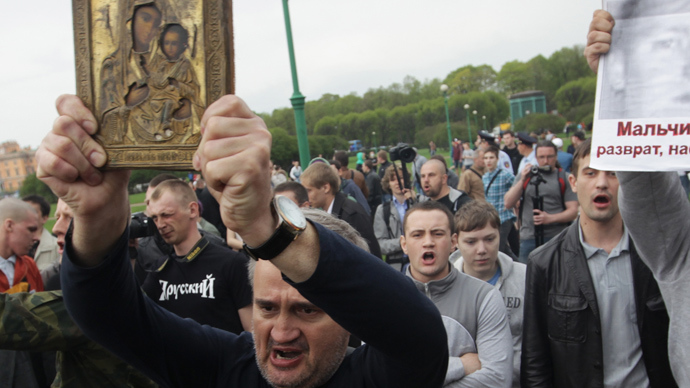 Top Russian cleric seeks nationwide referendum on criminalizing male homosexuality