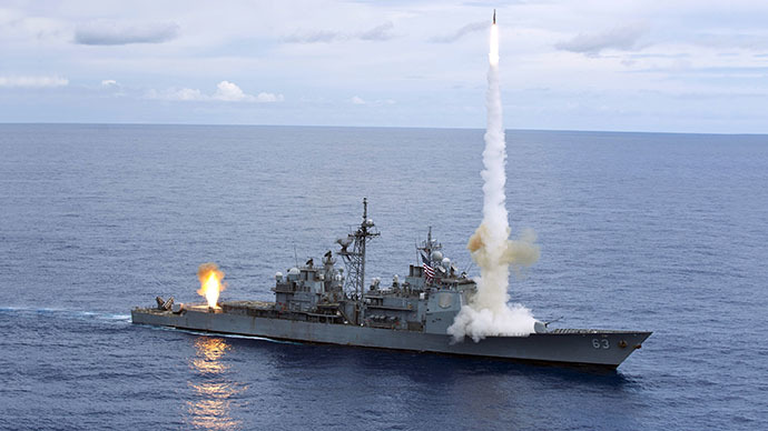 US, Chinese warships nearly collide in South China Sea