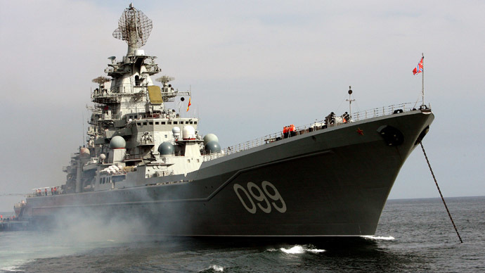 Russian battleships to escort Syrian chemical weapons - military source