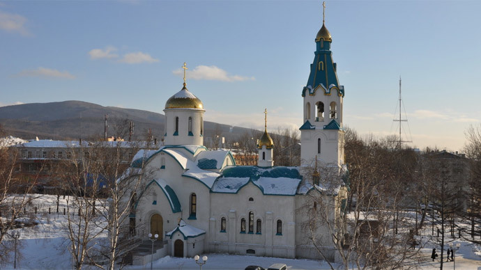 Gunman in Russian cathedral kills two, wounds six