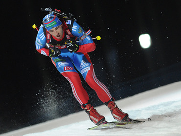 Russia miss out on medals in biathlon Worlds opener