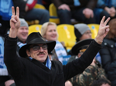St. Pete celeb makes way to closed Zenit game