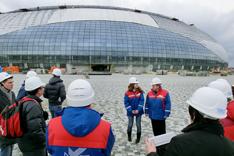 Russian Olympic Committee invites Putin to test events in Sochi