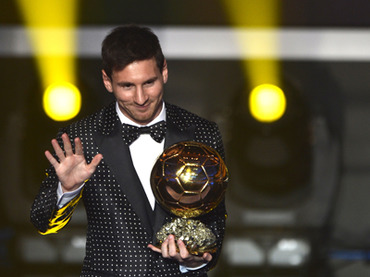 Four in a row! Messi world's best footballer again